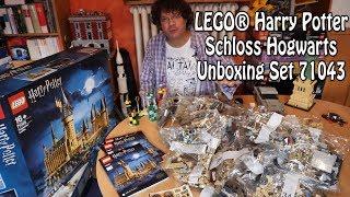 Unboxing: Großes LEGO Hogwarts Schloss (Harry Potter Set 71043)