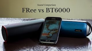 Creative Sound BLaster FRee vs Philips BT6000 - Sound Comparison