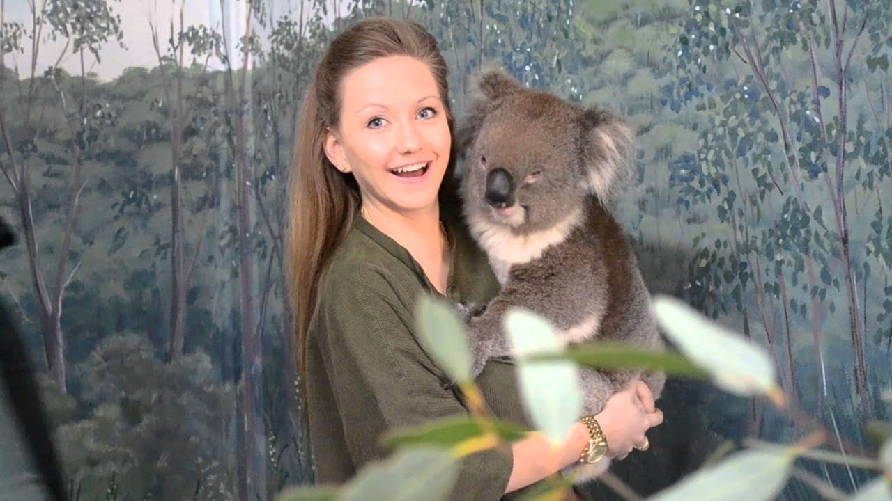 Rachel Donaldson At Cleland Wildlife Park South Australia Youtube