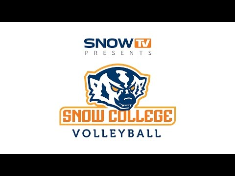 Snow College Volleyball vs. North Idaho College 10-8-2015