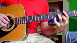 The Office theme song on acoustic guitar