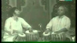 Ustad Allarakha and Ustad Zakir Hussain Duet in Ektaal