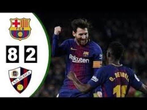 Fc Barcelona 8 vs 2 Huesca 02 09 2018 HD