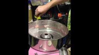 Using Candy Floss Machine