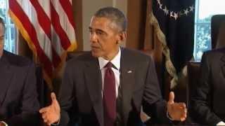 Obama Reaction to Ohio State University's Buckeyes Win