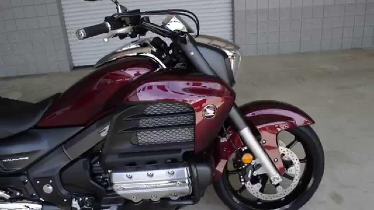 2014 Valkyrie For Sale / Chattanooga TN Honda Motorcycles - Dark Red Metallic - YouTube