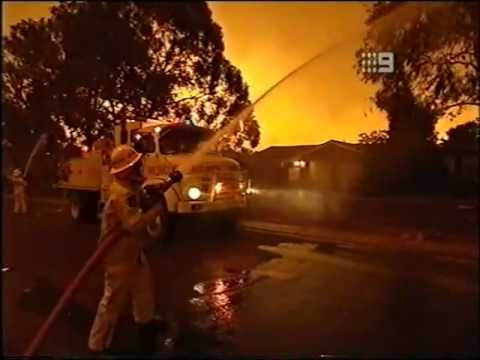 Canberra Australia Firestorm 2003