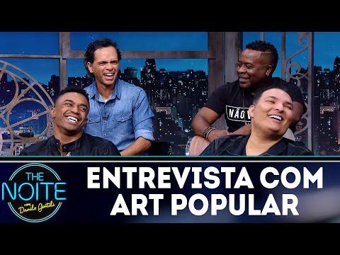 Entrevista com Art Popular | The Noite (07/05/18)