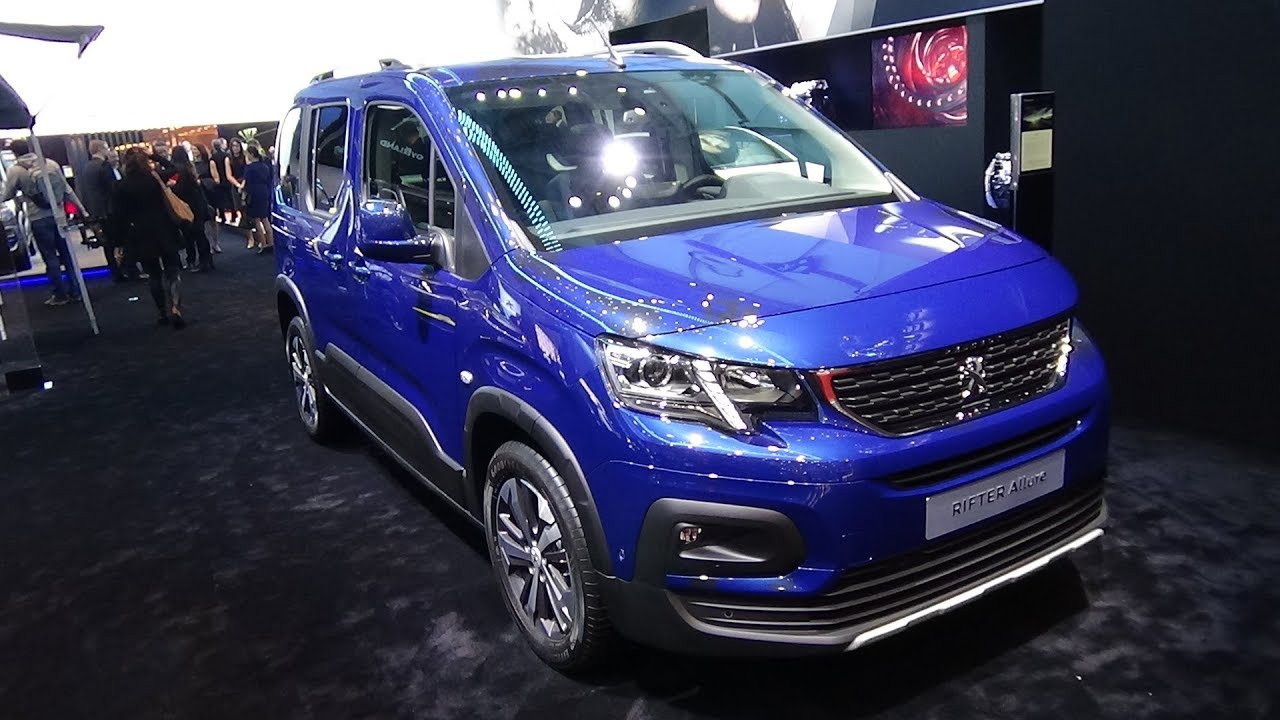 2019 peugeot rifter allure bluehdi 100 bvm5 exterior and interior geneva motor show 2018. Black Bedroom Furniture Sets. Home Design Ideas