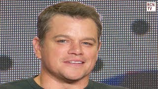 Matt Damon Explains Downsizing Meaning