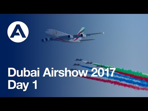 Dubai Air Show 2017 Highlights Day 1 Web