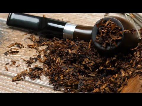 Tobacco Pipe Pack Stock Video