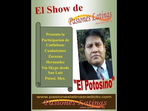 Bienvenida Oficial a Cuitlahuac desde San Luis Potosi, Mexico