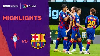Celta Vigo 2-2 Barcelona | Laliga 19/20 Match Highlights