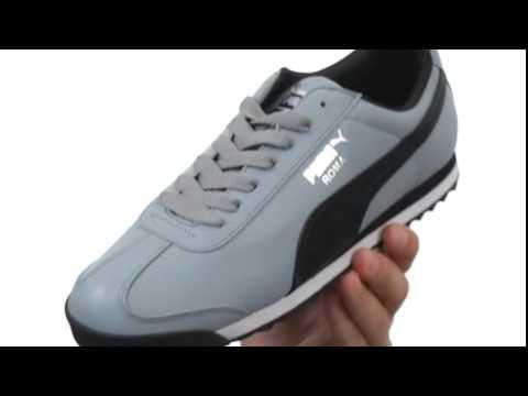 441b0fc3e5fd90 PUMA Roma Basic Sneaker Shoe 2 - YouTube