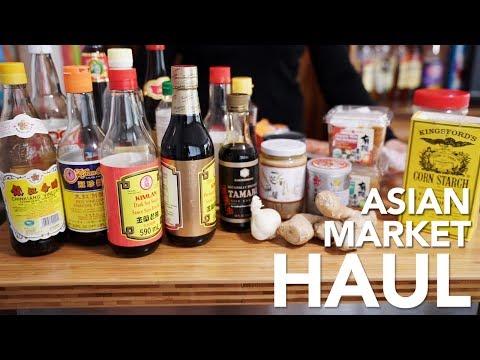 ASIAN GROCERY HAUL - My Asian Market Basics
