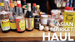 ASIAN GROCERY HAUL - My Asian Market Basics