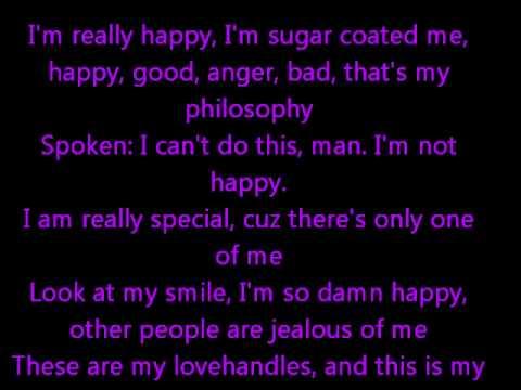 The Happy Song - Lyrics On Screen - Liam Lynch - YouTube