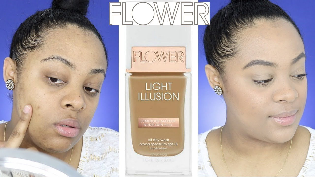 New flower beauty light illusion foundation first impression flower beauty light illusion foundation first impression drugstore makeup izmirmasajfo