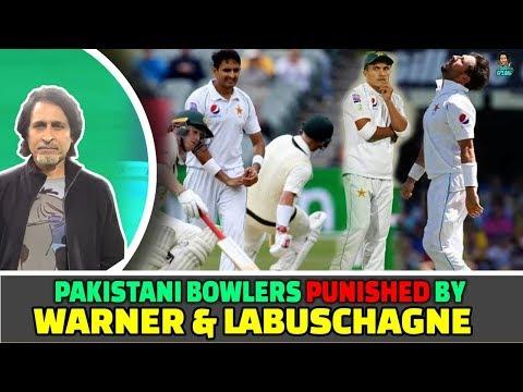 Ramiz Raja: Pakistani Bowlers Punished by Warner & Labuschagne | 2nd Test Day 1