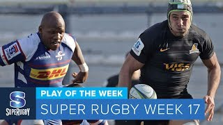 PLAY OF THE WEEK: 2018 Super Rugby Week 17