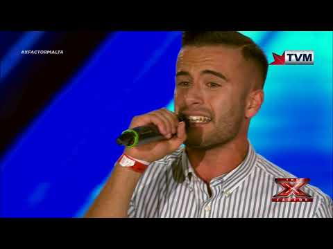 X Factor Malta - The Chair Challenge - James Mifsud