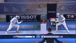 GP Havana 2015 Men Foil Individual Final