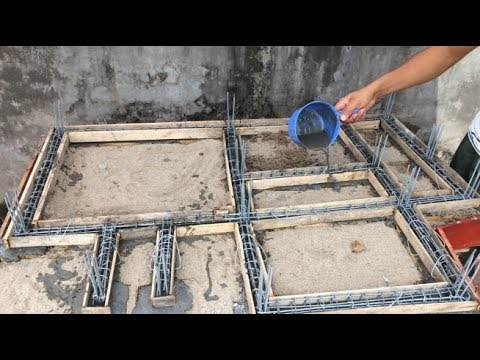 The Process To Build A Solid Foundation For The House – Project To Build Foundations For The House