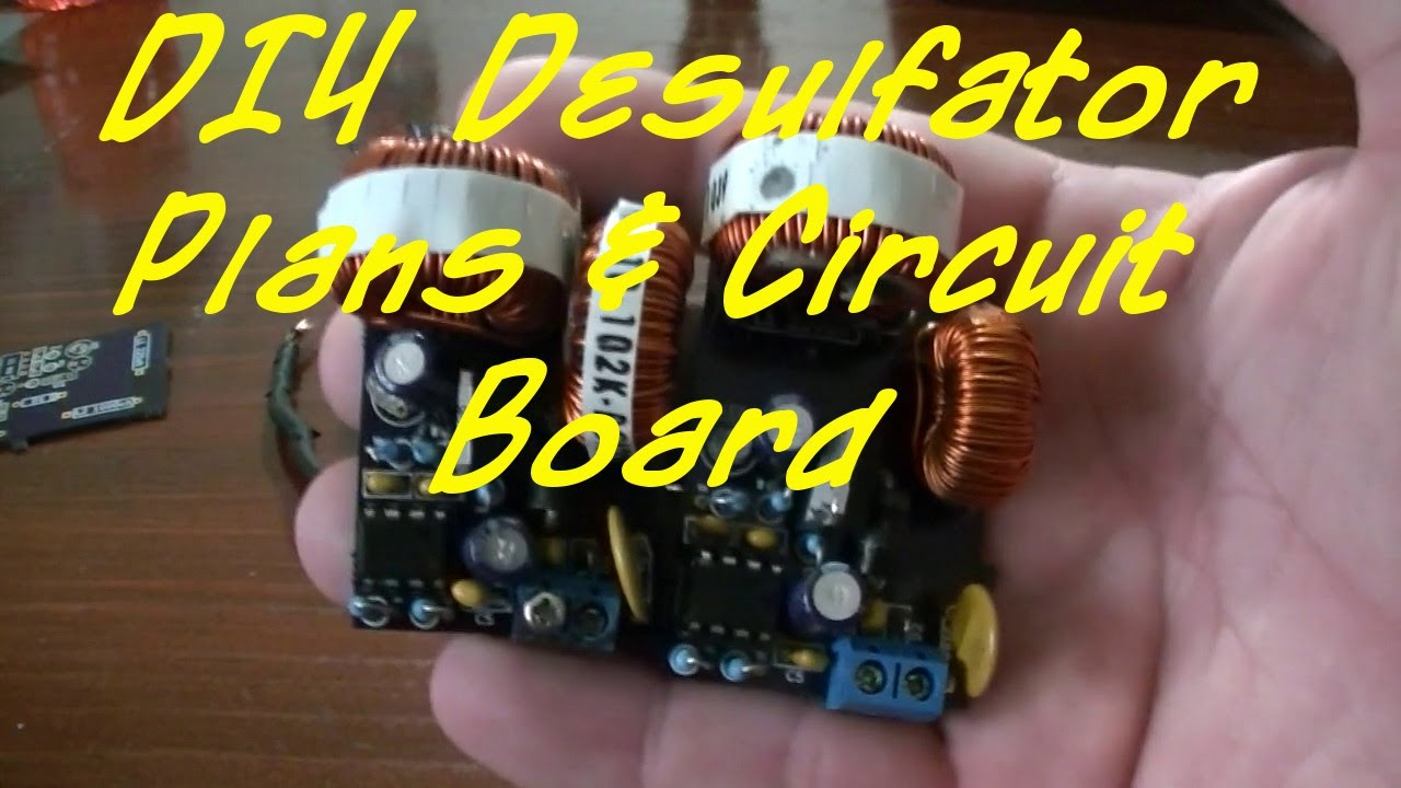 Desulfator Circuit Board How To Order