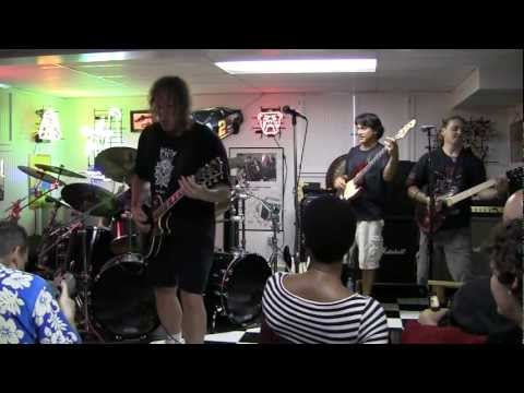 """Reach For Your Sword"" - TENSION band rehearsal (Sept. 4, 2011)"