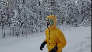 """الكثيري يتدرب بحرارة تحت 40 تحت الصفر استعداداً لـ """"ألترا ماراثون"""" القطب الجنوبي"""