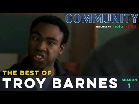 Best of Troy Barnes: Community S01    LeoAshe.com
