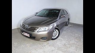 (SOLD) Automatic 4cyl Sedan Toyota Camry Altise 2011 Review