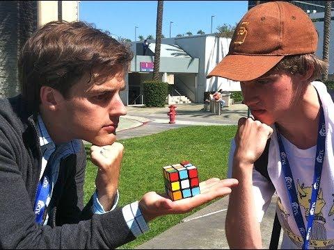 Matthew Patrick Tries to Solve a Rubik's Cube