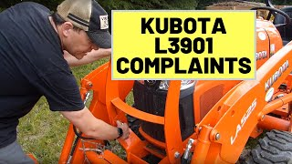 #52 Complaints About The Kubota L3901 Tractor After 80 Hours of Use