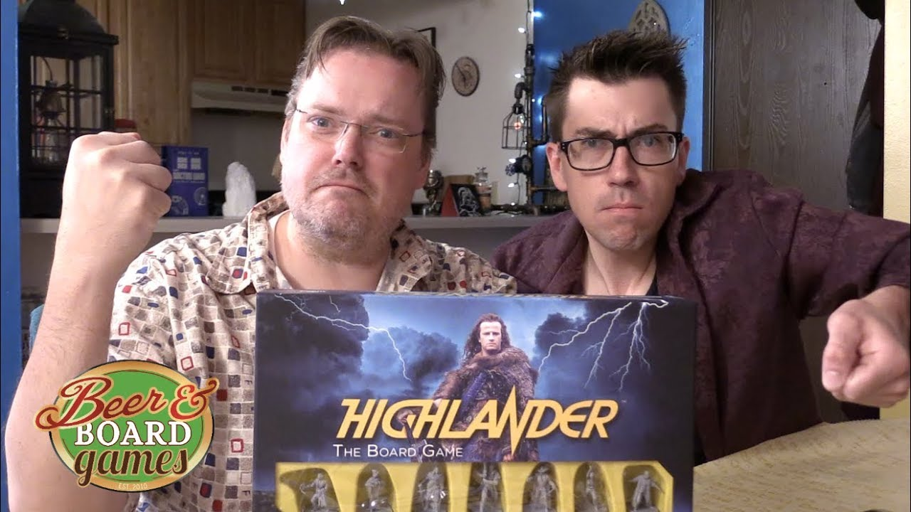 The Highlander Game | Beer and Board Games