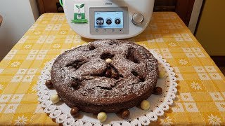 Ricetta Torta Estasi Alla Nutella.Torta Estasi Per Bimby Tm6 Tm5 Tm31 Youtube