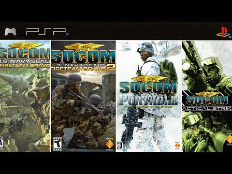 All SOCOM Games On PSP