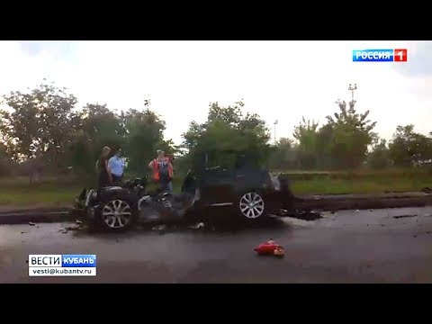 По факту аварии на улице Дзержинского в Краснодаре завели уголовное дело