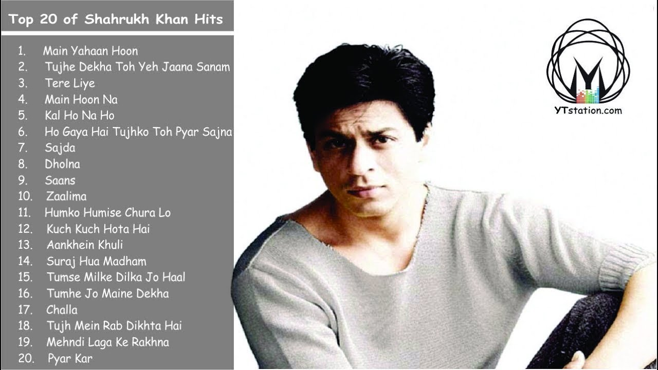 Songs list shahrukh View 23