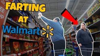 POOTER PRANK - People of Walmart - Farting in Public