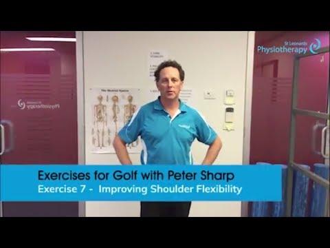 Exercises for Golf Part 7 – Improve Shoulder Flexibility