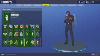 Fortnite account with Red knight Hella cosmetics