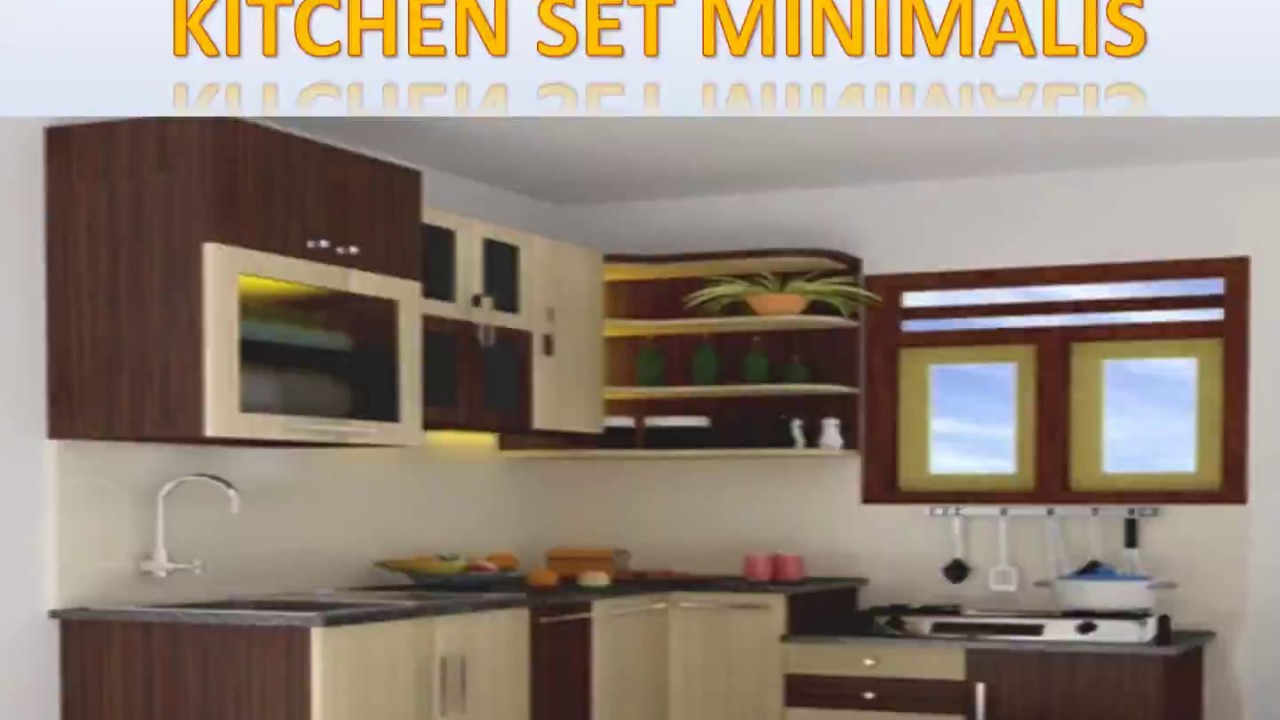 Garansi 0812 1441 3061 Kitchen Set Mini Bar Minimalis Youtube