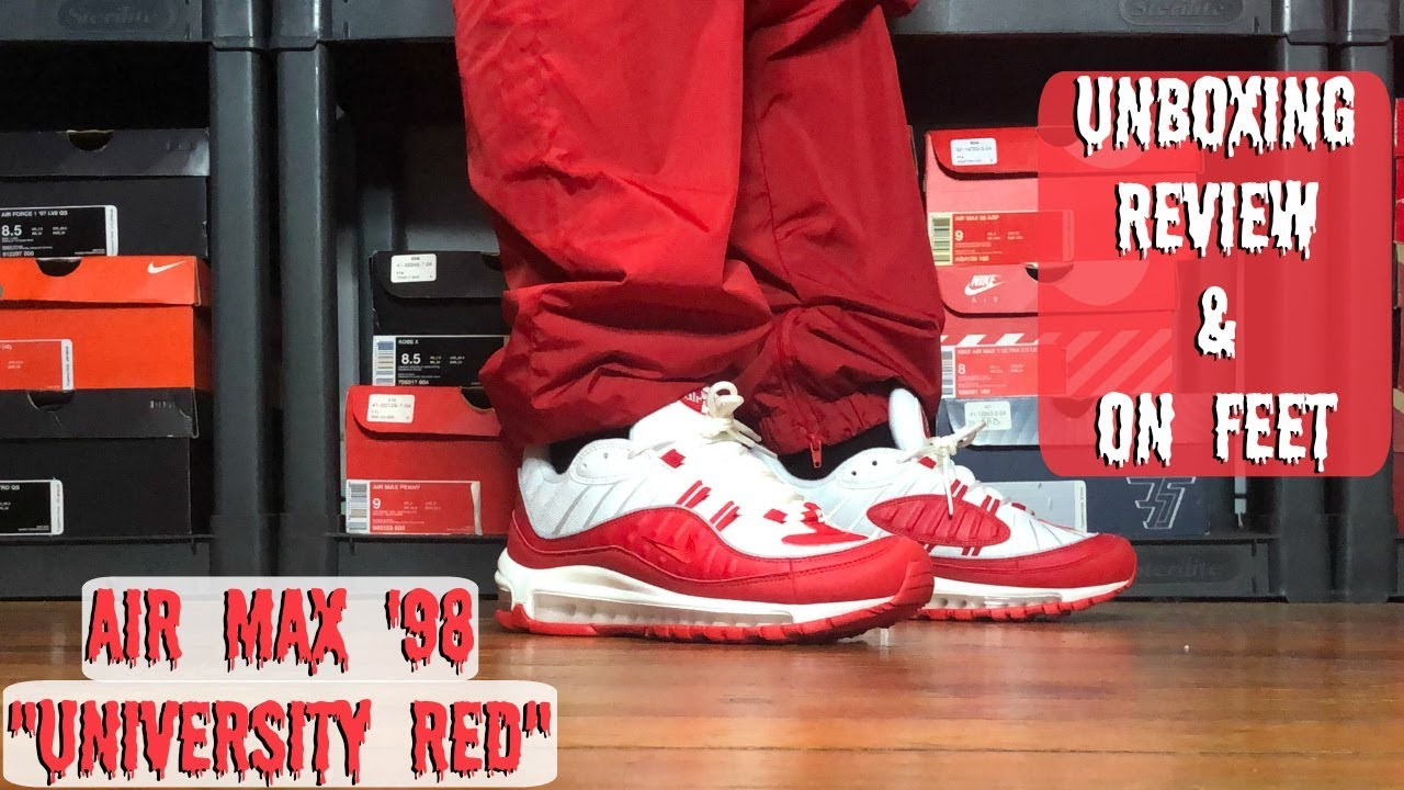 Nike Air Max 98 SE Team Red Оригинал Air Max Plus 97 95 OG Max 270