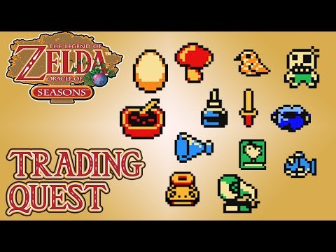 The Legend Of Zelda: Oracle Of Seasons - Trading Quest