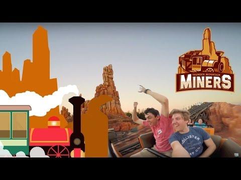 Mining at Big Thunder Mountain! -12 Days Of Disney Vlogs! (Day 5 Part 4)