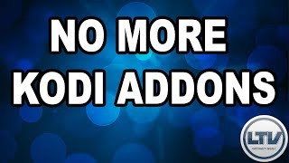 KODI NEWS - FEB 2018 - TIME TO STOP KODI ADDONS??