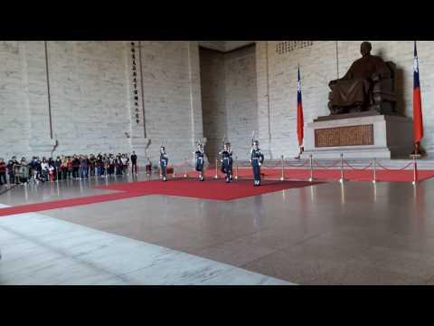 Lễ giao ca ở Lăng Tưởng Giới Thạch