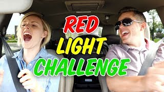 RED LIGHT CHALLENGE! 🚦Ellie And Jared